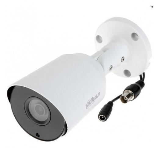 DH-HAC-HFW1200TP-0360B Видеокамера HDCVI Уличная цилиндрическая мультиформатная