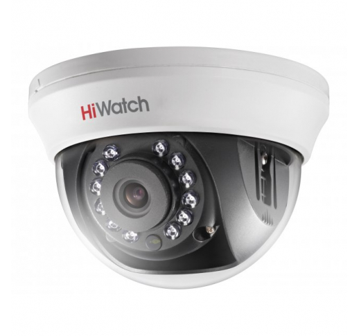 DS-T101 (2.8 mm) Внутренняя купольная HD-TVI камера