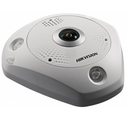 DS-2CD63C5G0E-IS (2mm) (B) fisheye IP-камера с ИК-подсветкой