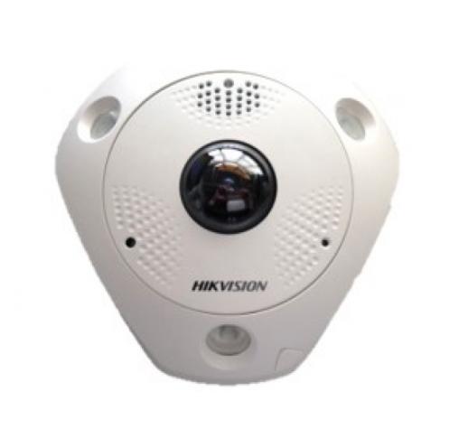 DS-2CD63C5G0E-IVS (2mm) (B) fisheye IP-камера с ИК-подсветкой