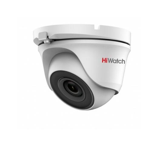 DS-T203 (B) (3.6 mm) Уличная купольная HD-TVI камера