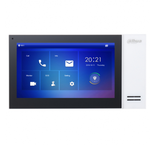 DH-VTH2421FW-P Монитор видеодомофона IP 7 дюймовый