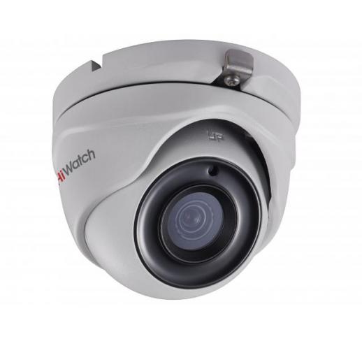 DS-T203P (B) (3.6 mm) Уличная купольная HD-TVI камера