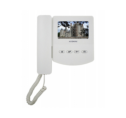 AT-VD433C EXEL WHITE Видеодомофон