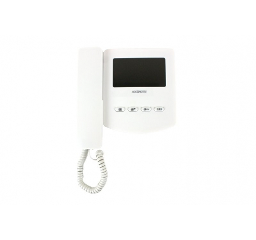 AT-VD433С K EXEL WHITE Видеодомофон
