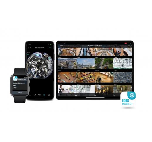 IDIS MOBILE PLUS Единое приложение для подключения к видеокамерам и регистраторам