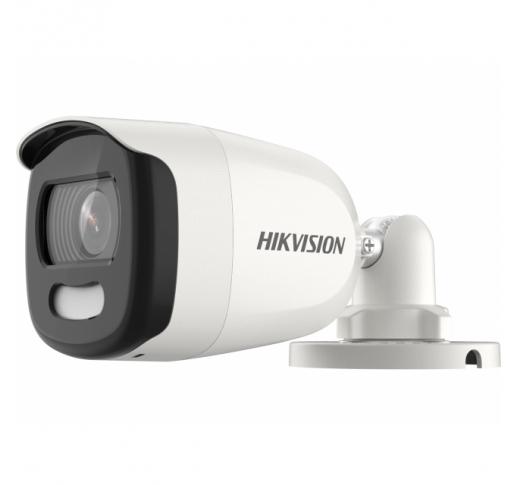 DS-2CE10HFT-F28 (2.8mm) Уличная компактная цилиндрическая HD-TVI камера