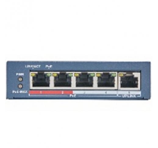 DS-S504P (B) Сетевой неуправляемый коммутатор