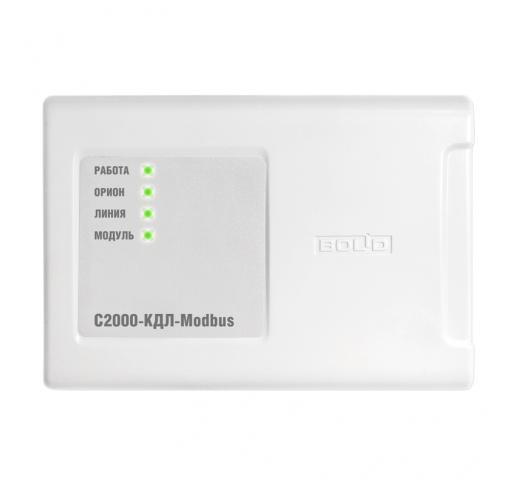 С2000-КДЛ-Modbus Контроллер двухпроводной линии