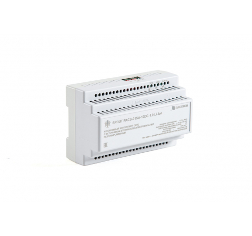 SPRUT PACS-01SA-12DC-1.0 Li-ion Бесперебойный контроллер СКУД