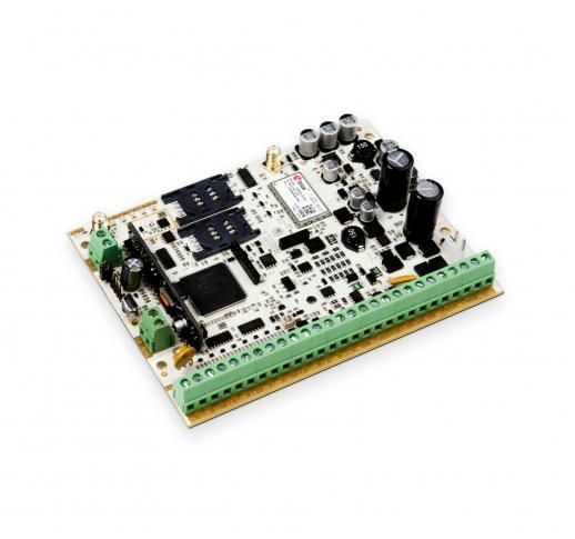 ESIM384 Комбинированная охранная GSM панель