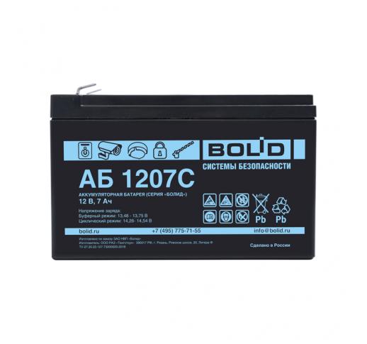 АБ 1207С Аккумулятор