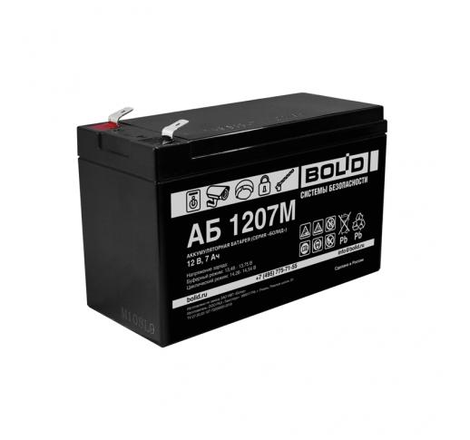 АБ 1207М Аккумулятор