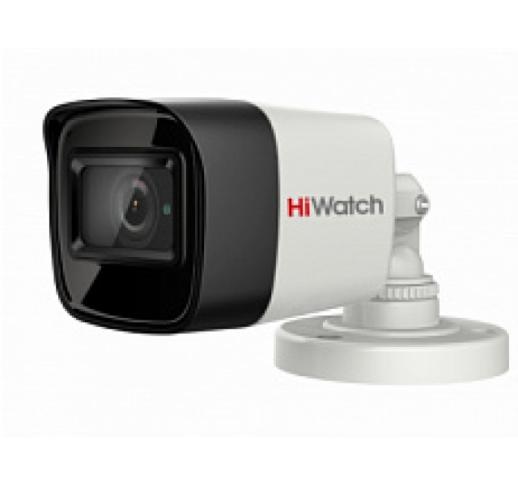 DS-T800 (B) (3.6 mm) 8Мп уличная цилиндрическая HD-TVI камера