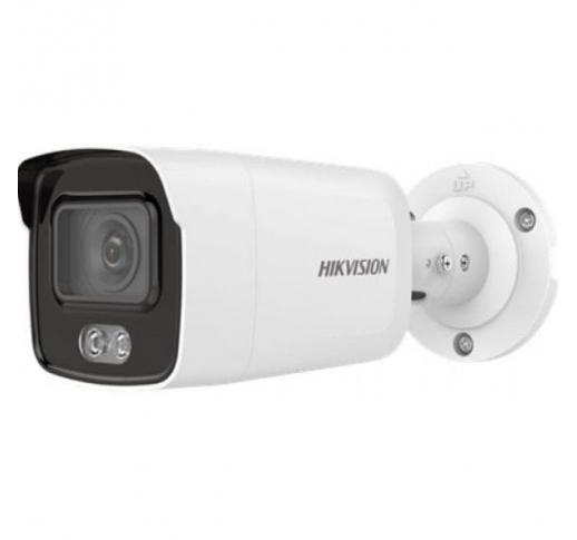 DS-2CD2027G2-LU (2.8mm) Уличная цилиндрическая IP-камера с LED-подсветкой