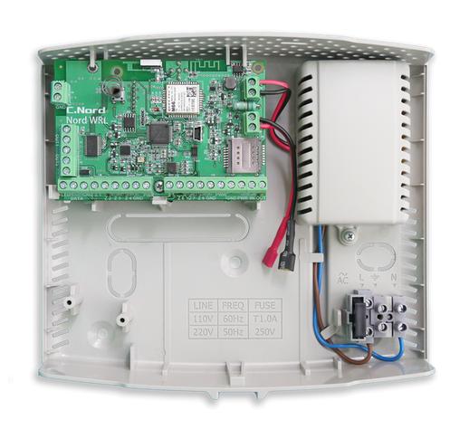Норд GSM WRL Контрольная панель