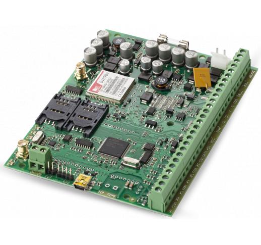 ESIM364 Комбинированная охранная GSM панель