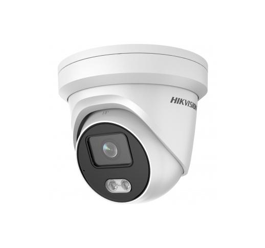 DS-2CD2327G2-LU (4mm) Уличная купольная IP-камера с LED-подсветкой