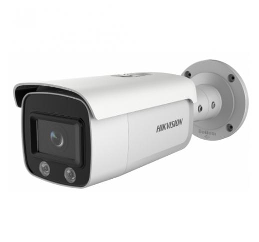 DS-2CD2T27G2-L (6mm) Уличная цилиндрическая IP-камера с LED-подсветкой