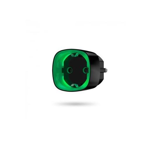Socket (black) Радиоуправляемая умная розетка со счетчиком энергопотребления