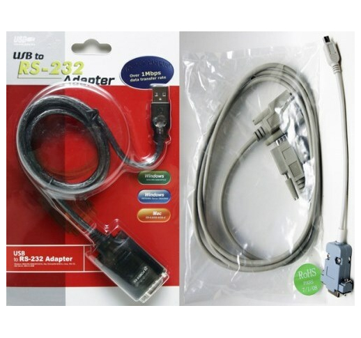 USB/COM + RS-232 + Кабель Аврора-ДОР Комплект шнуров
