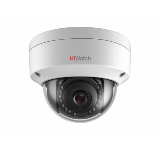 DS-I202 (D) (4 mm) 2Мп уличная купольная мини IP-камера