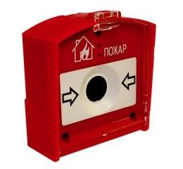 Извещатель пожарный ручной радиоканальный RIPR1 (ИП 535-1-А)