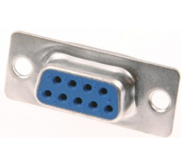 Гнездо 9 pin на кабель (пайка) DB-9F (DS1033-09F)